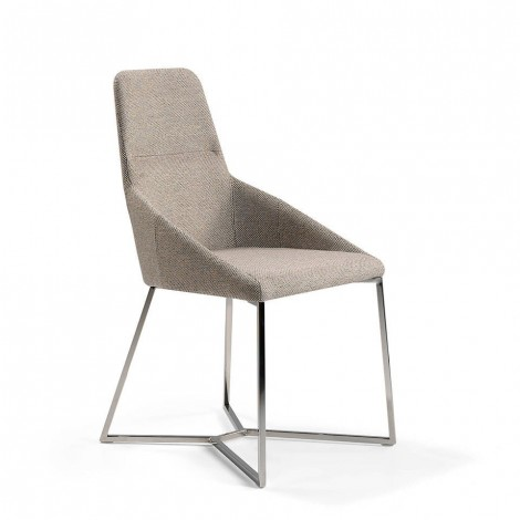 cerda ibiza chair with steel structure