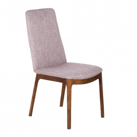 cerdá valzer chair with solid walnut wood frame