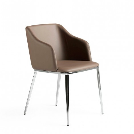 Lounge armchair made with...