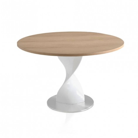 Twisted table made with...