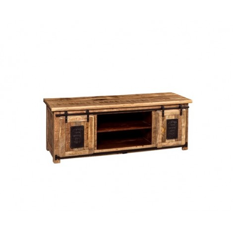 Newport TV stand made of...