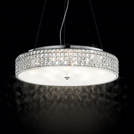 Roma suspension lamp by Ideal Lux made