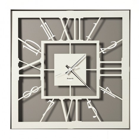 Tauro laser-cut wall clock...