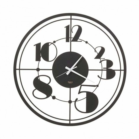 Teo laser-worked wall clock...