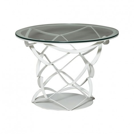 Origami coffee table by Arti e Mestieri white