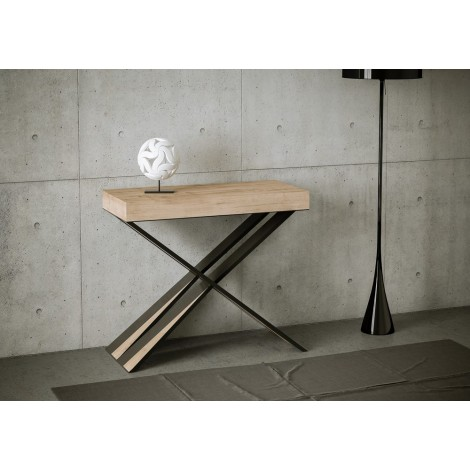Diago extendable console with telescopic