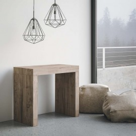 itamoby twist console in ambient oak