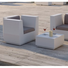 plust big cut pouf outdoor coffee table