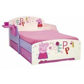 Peppa Pig cot with mdf structure and decorated and non-adhesive images ready for your children