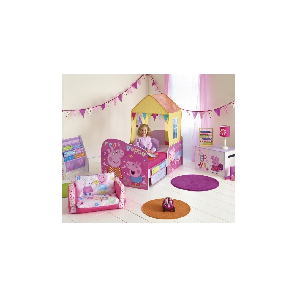 Peppa Pig Kid Bed With Built In House And Gadgets Included