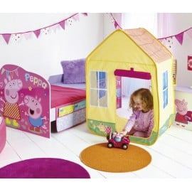 Peppa Pig baby bed with built-in house and many supplied gadgets