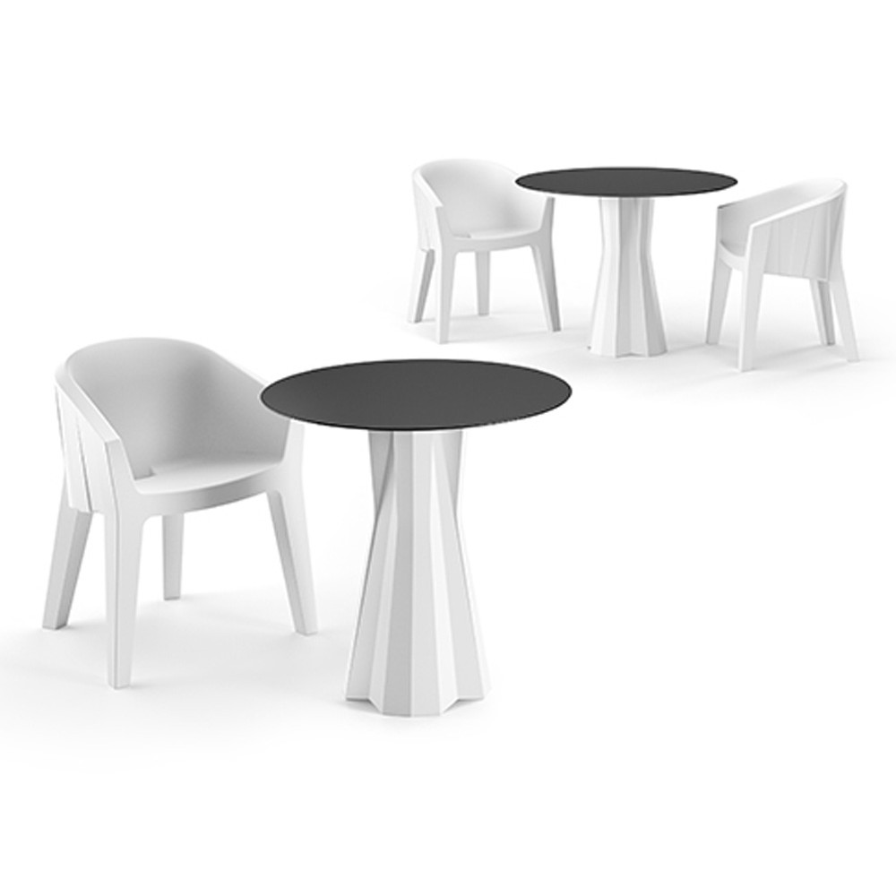 plust frozen dining table outdoor table