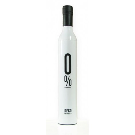 Nice umbrella with bottle-shaped handle and rigid plastic case. Suitable for birthday gifts