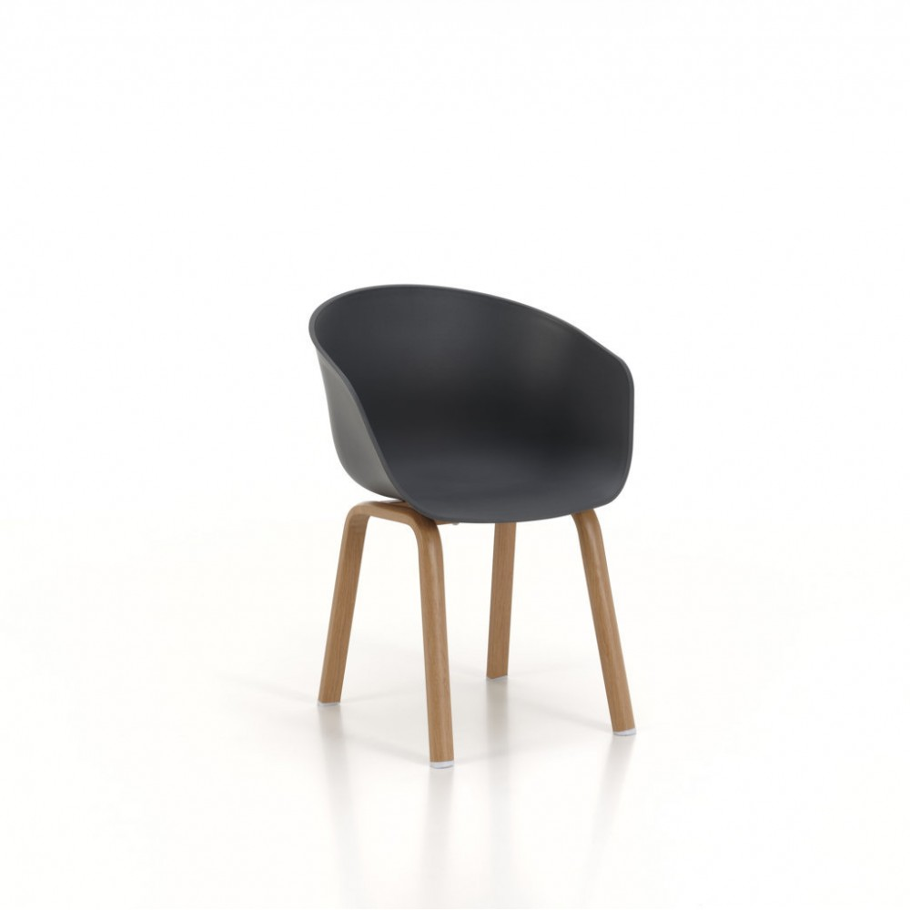Cecilia chair made with wood effect