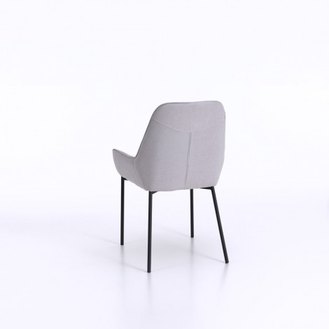Allison chair with painted metal frame