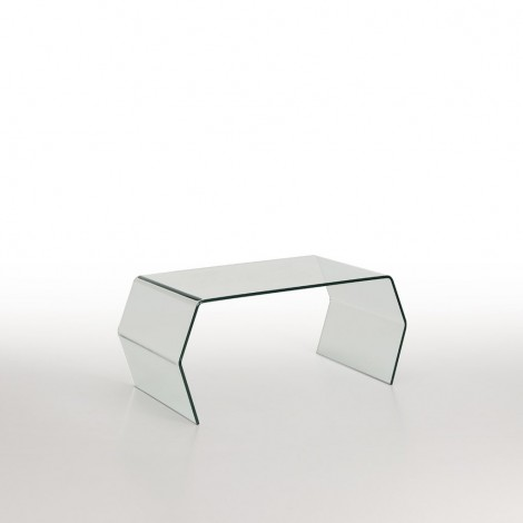 Arco living room table made of tempered