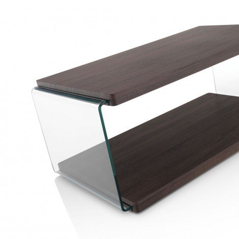Walnut living room table made of