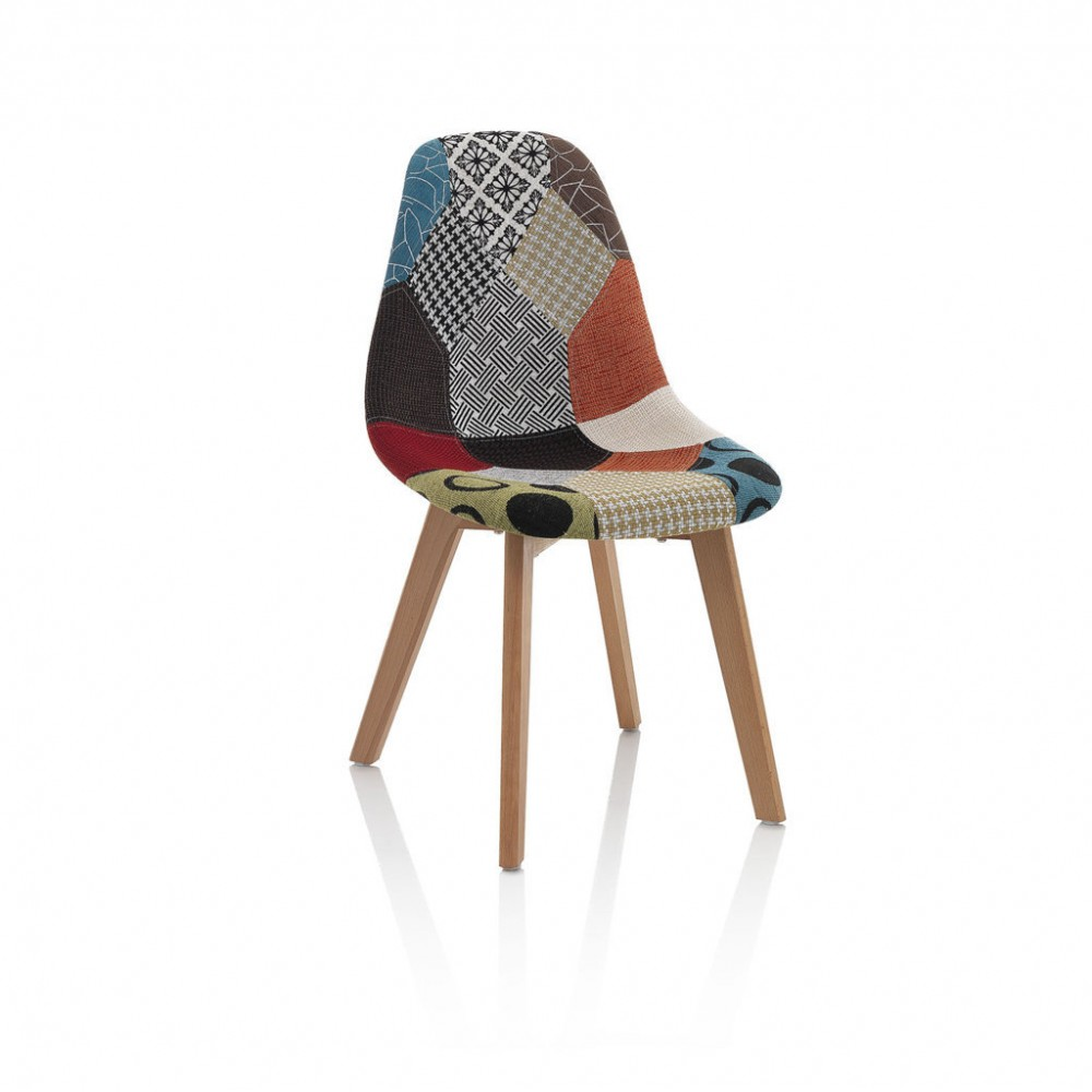 chaise patchwork kasa-store