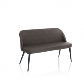 Simply 2 seater sofa with metal frame