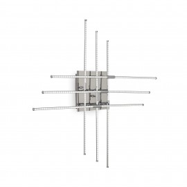 Cross ceiling lamp by Ideal Lux in