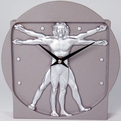 Man Size table clock made entirely in Italy in fiberglass