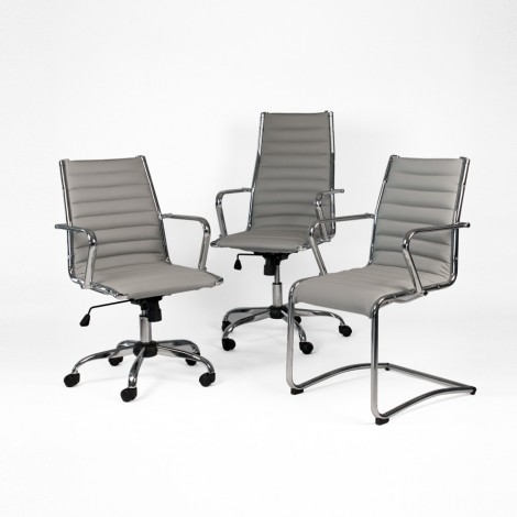 Pandora office chair available in the executive and waiting Presidential model covered in imitation leather