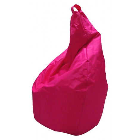Pouf bag covered in nylon in 11 various colors with internal spheres