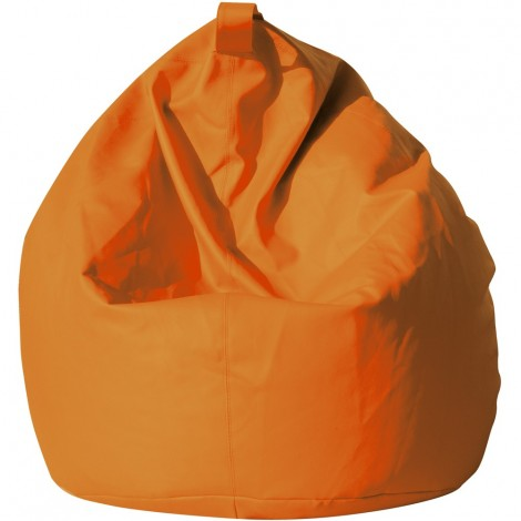 Maxi Bean-Bag Chair in 12 different colours made of ecoleather with polystyrene microspheres, the cover is completely removable