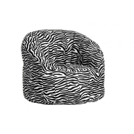 Tortuga bean bag 100% polyester pouf with non-removable cover