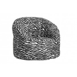 Tortuga bean bag 100% polyester pouf with non removable cover