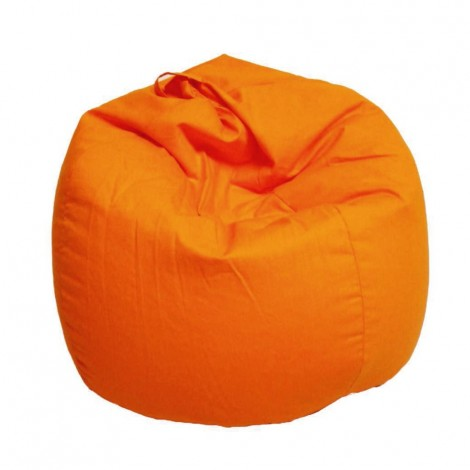 Armchair Sacchi Pouf in 19 different colors 80% cotton and 20% polyester with internal polystyrene spheres. Completely removable