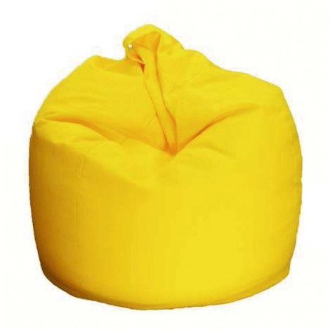 Bean Bag Chair in 19 different colours made of cotton and polyester, filled inside with polystyrene microspheres
