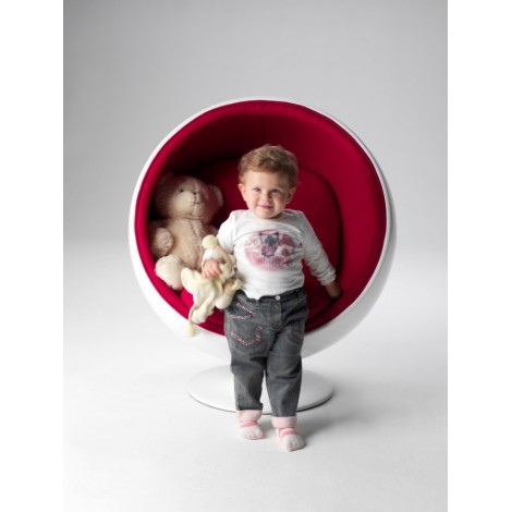 Re-edition of the Ball chair or armchair for children By Eero Aarnio