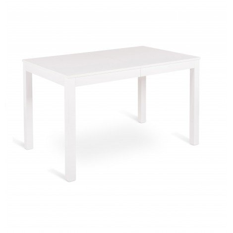 Traffic extendable table stones with beech structure and melamine top with 2 extensions of 40 cm each