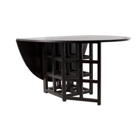 Re-edition of the Basset lowke table by Mackintosh in solid ash wood