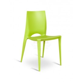 Denise polypropylene chair suitable for indoor and outdoor very comfortable and in various colors