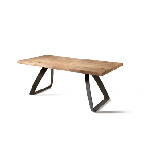 Bridge Table Fixed or Extendable up to 300 cm available in several sizes and finishes. External extensions