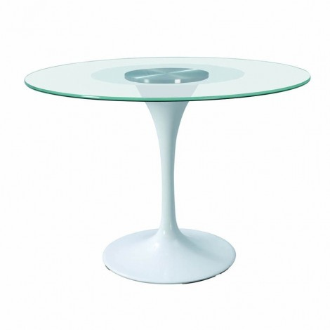 Round glass table Diameter 80-100-120 cm