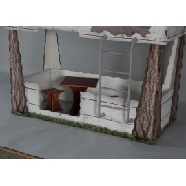 Bunk bed tree house