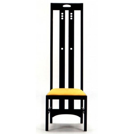 reproduction du fauteuil Charles Rennie Mackintosh Sthul Made in Italy 100%