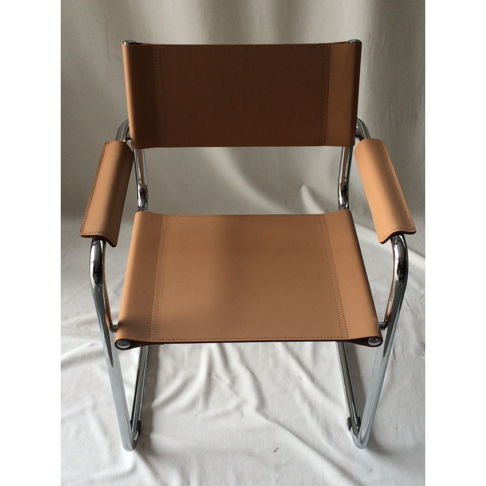 Cantilever chair reproduction of MART STAM with metal structure and ...