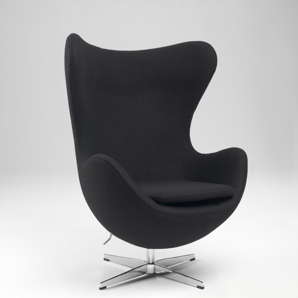 Poltrona Egg Jacobsen.Egg Armchair By Arne Jacobsen Made Of Wool Or Genuine Leather