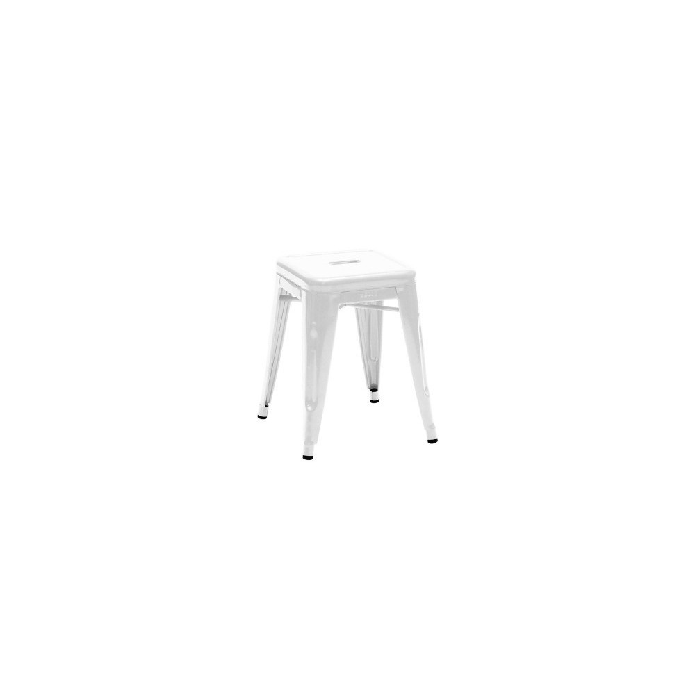 Re Edition Of Tolix Stool By Xavier Pouchard Low And Tall In Painted Metal Jpg