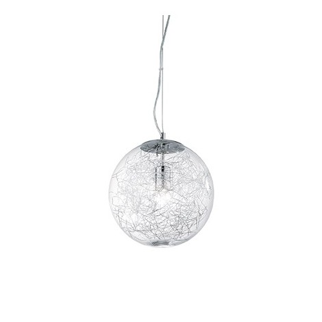 Mapa Max ua or 5 lights ceiling lamp with metal structure and blown glass
