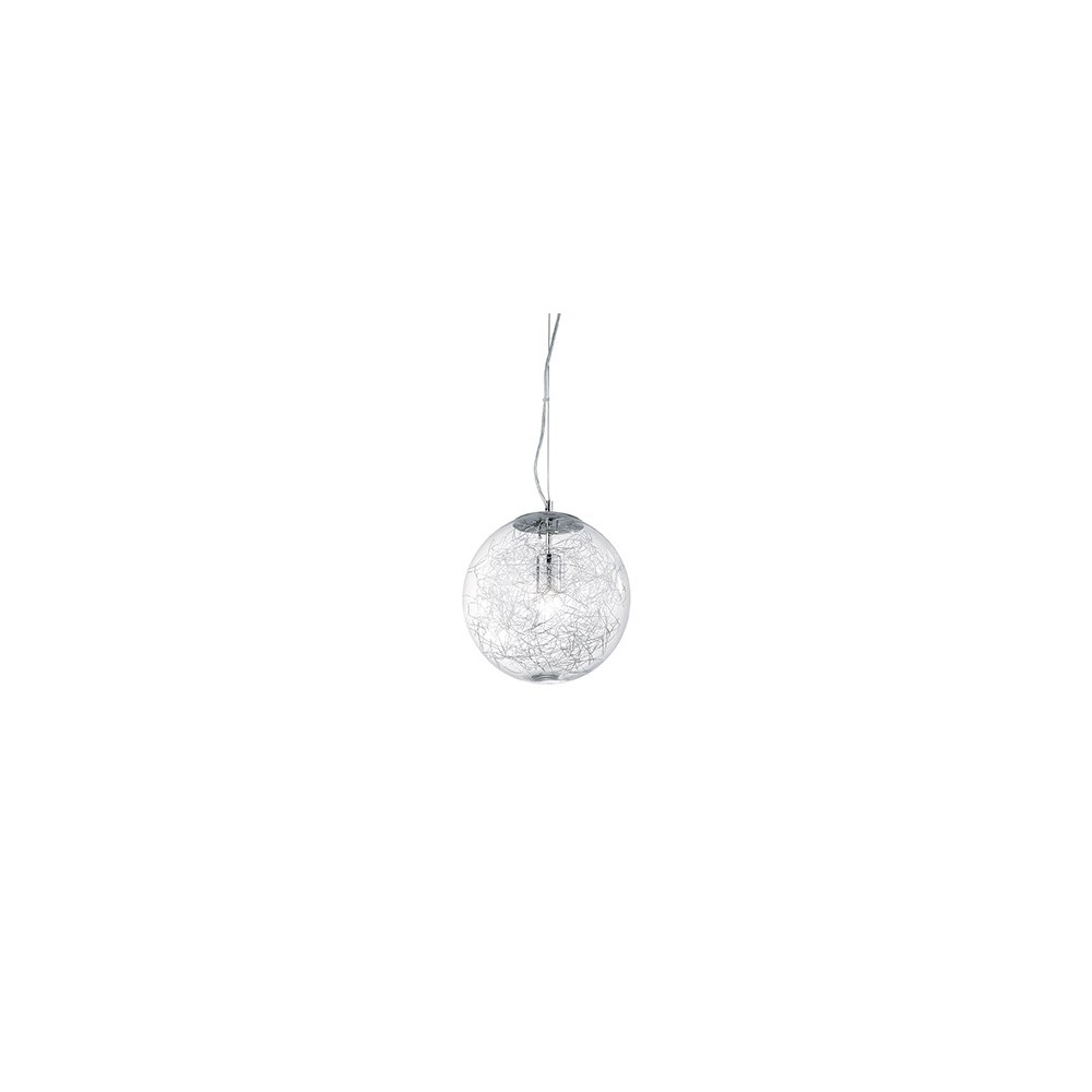 Ceiling Lamp Mapa Max With One Or 5 Lights With Metal Frame And