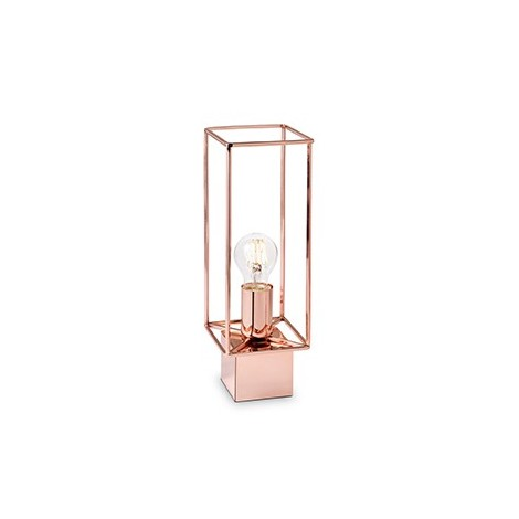 Volt table lamp in metal with copper finish. Type of lamp E27 max 60 watt