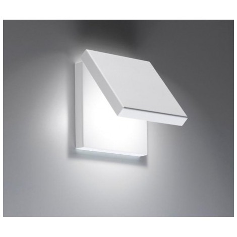 Spy metal wall lamp with 90 ° directional front and LED lighting