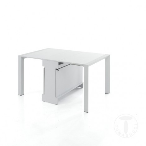 Tavolo Consolle Allungabile Bianco.Diony S Extensible Console Table By Tomasucci Kidbedroom White