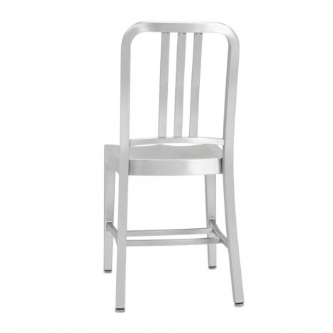 Re-edition of the Navy chair by the unknown designer Anonimo in anodized aluminum