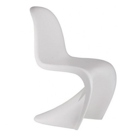 White Panton Children's Chair. Also in an economic 5-piece set